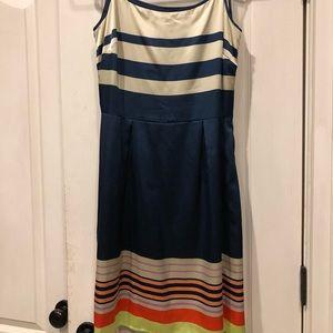 Daniel Cremieux ladies navy dress size 8